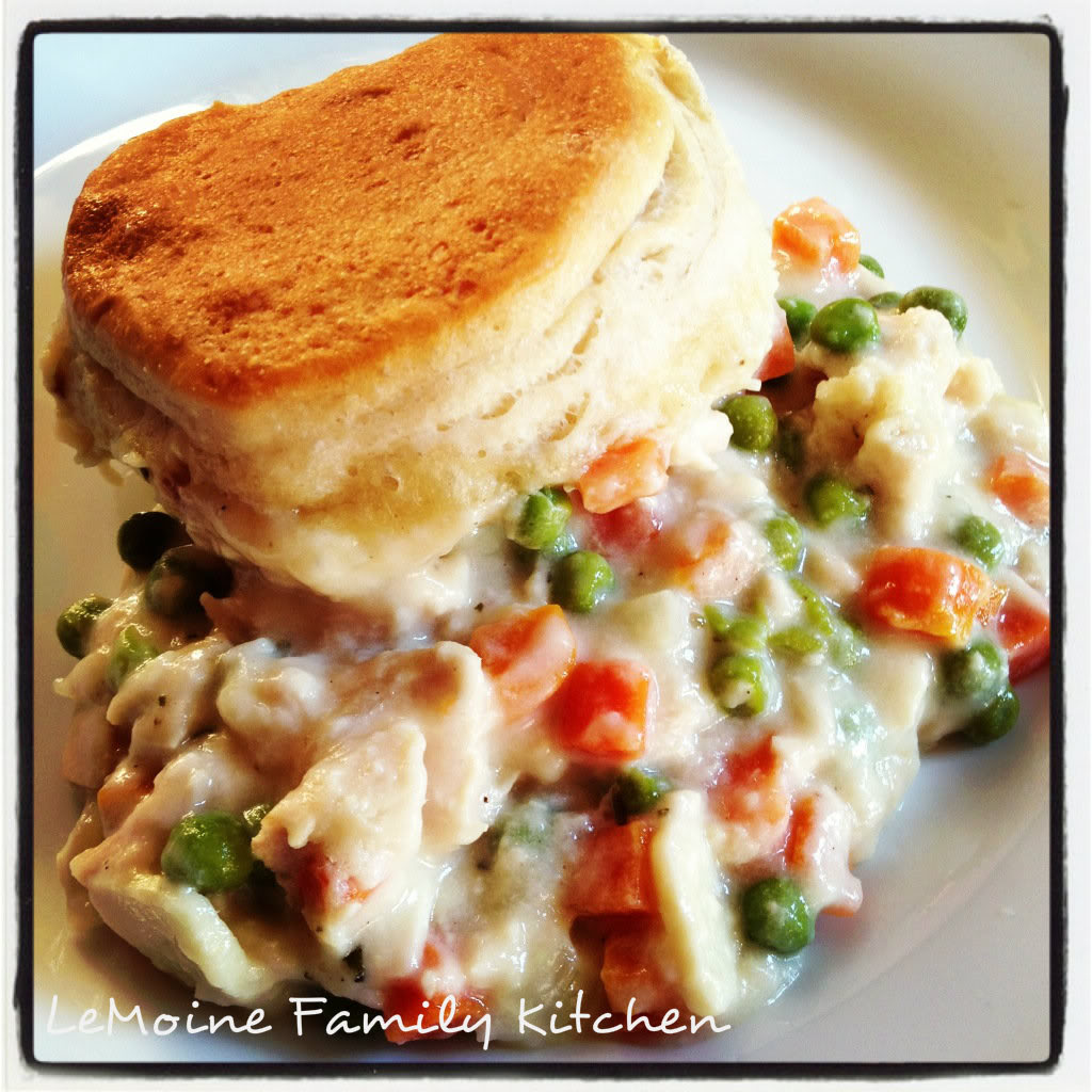 Whether you've got leftover Thanksgiving turkey or you just picked up a roasted turkey breast at the store... this Turkey Pot Pie is a perfect comfort meal the whole family will love!!