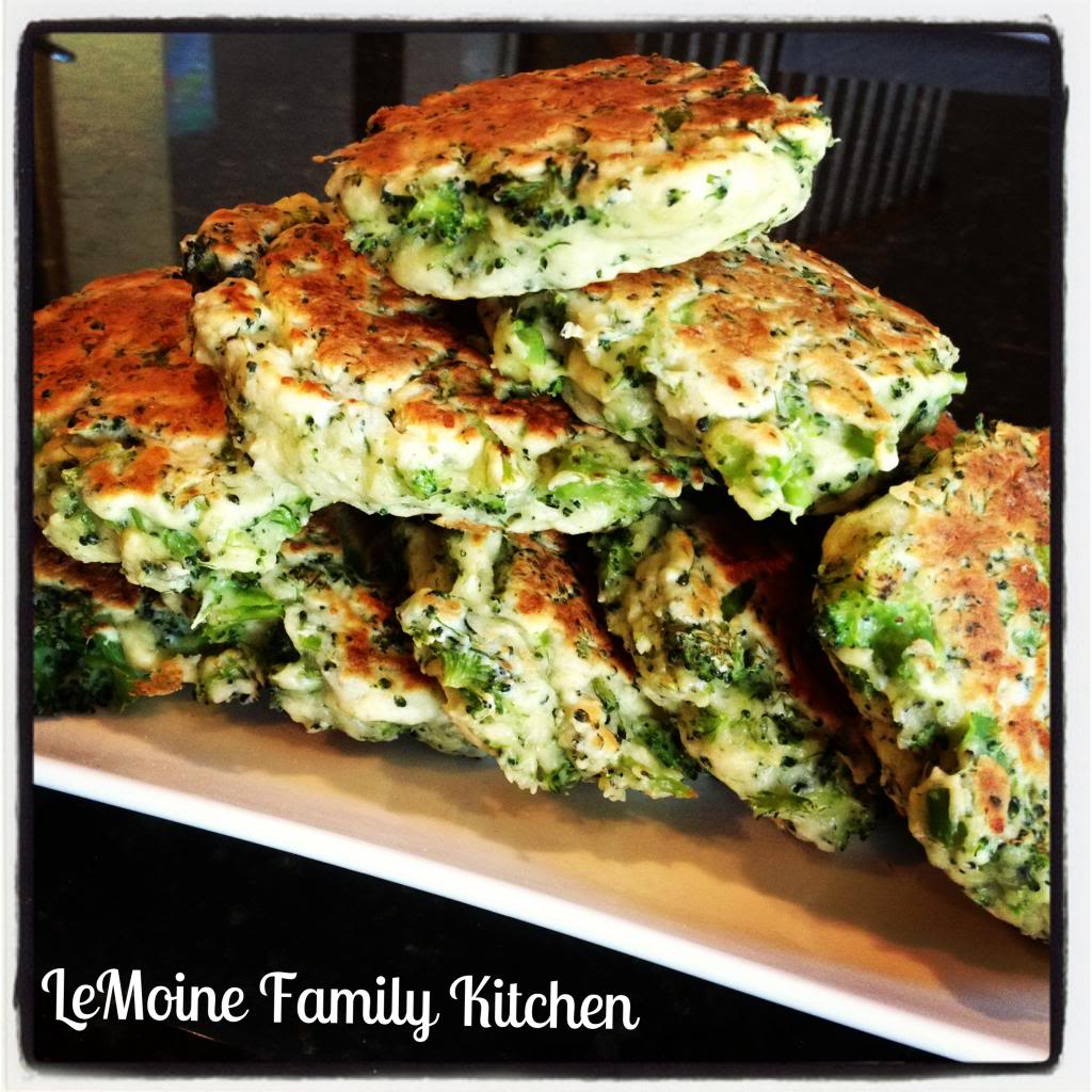 Broccoli & Pecorino Cakes