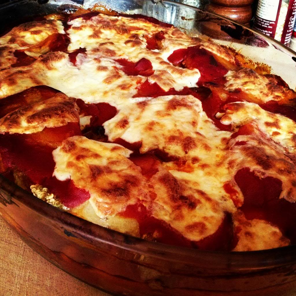 Eggplant Parmigiano my Nonnas way. A little different then the traditional but this is how my Nonna from Calabria Italy made hers and its a family fave.