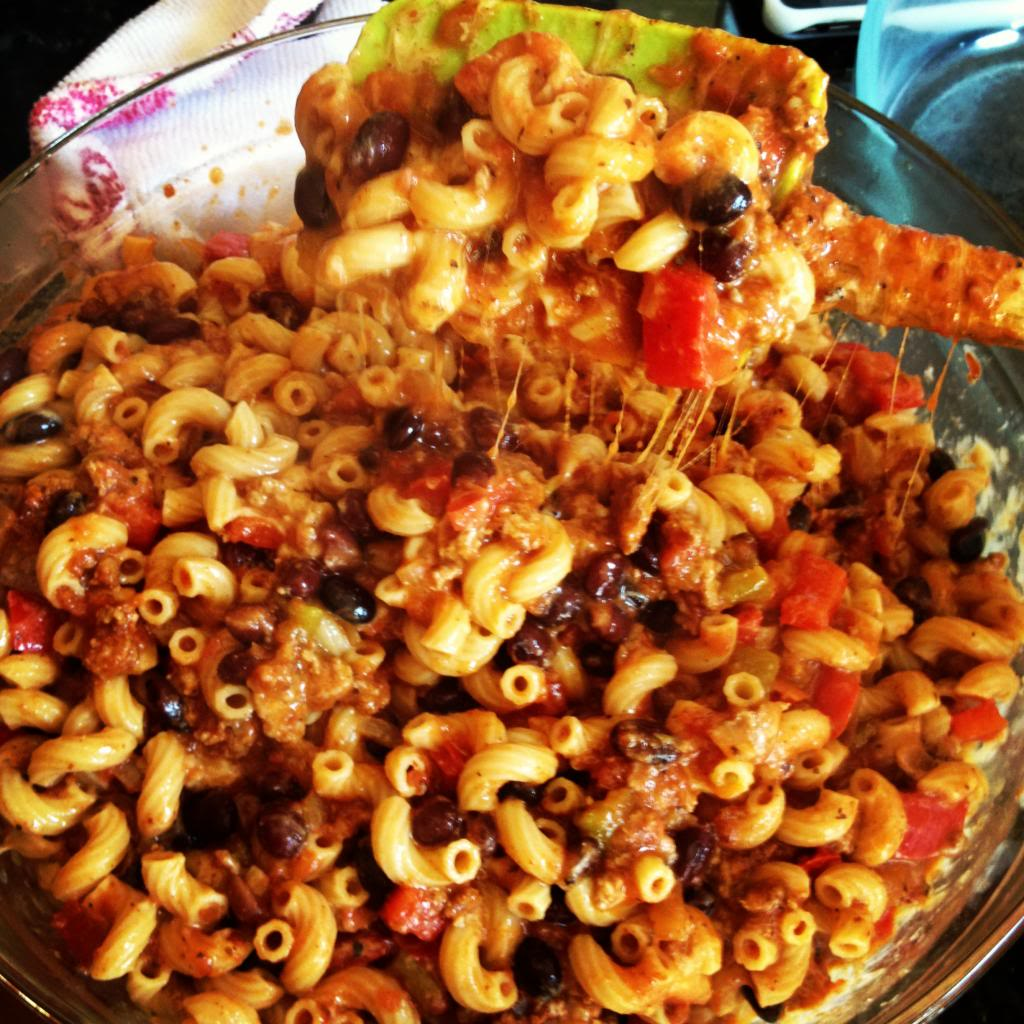 Turkey Chili Mac & Cheese