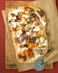 Roasted Fall Veggie Pizza -- Martha Stewart