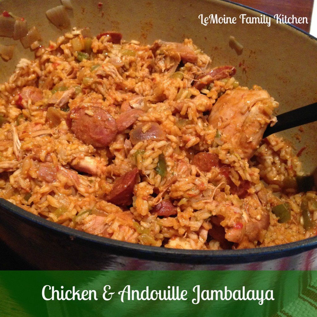 chicken and andouille jambalaya