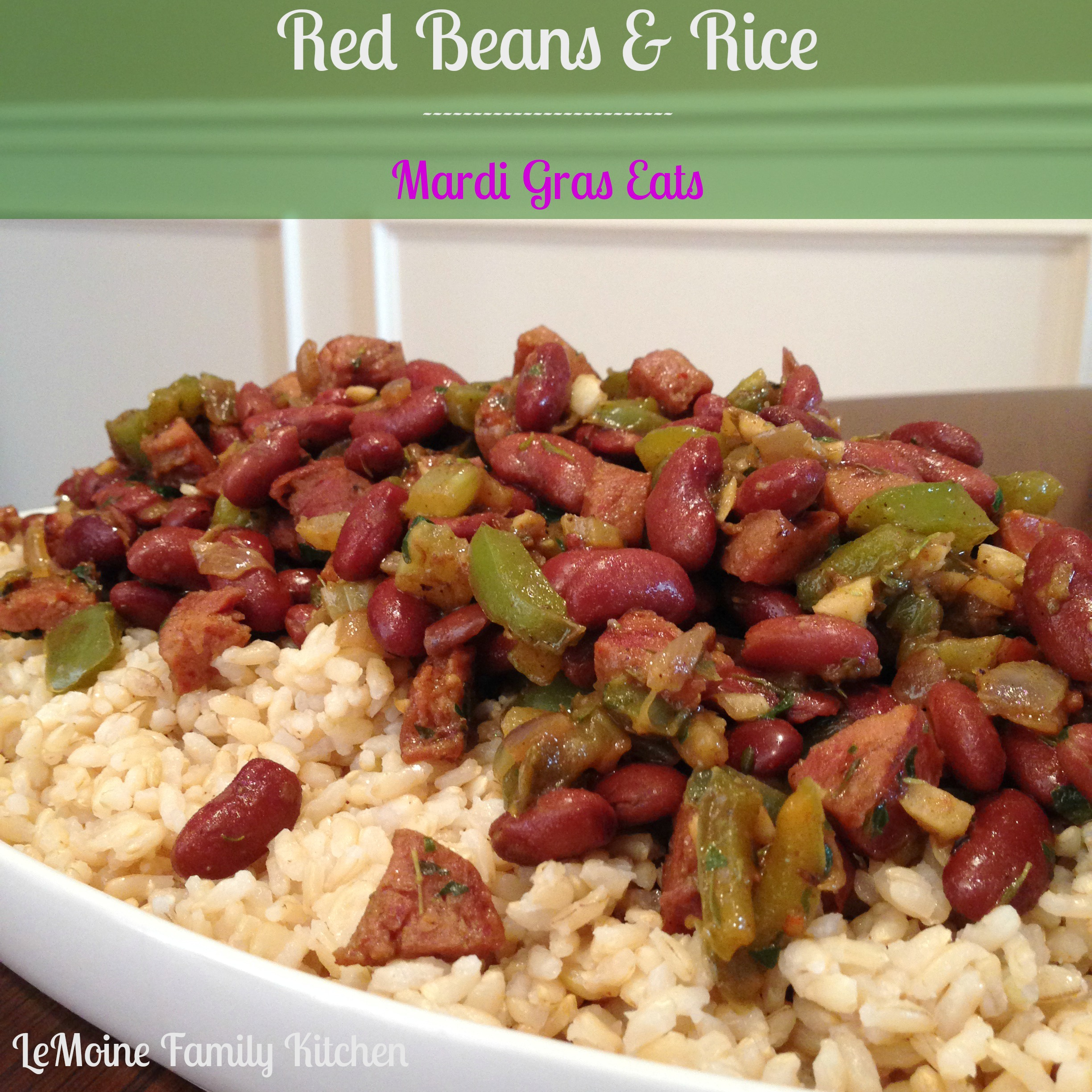 Red Beans & Rice :: Mardi Gras Eats