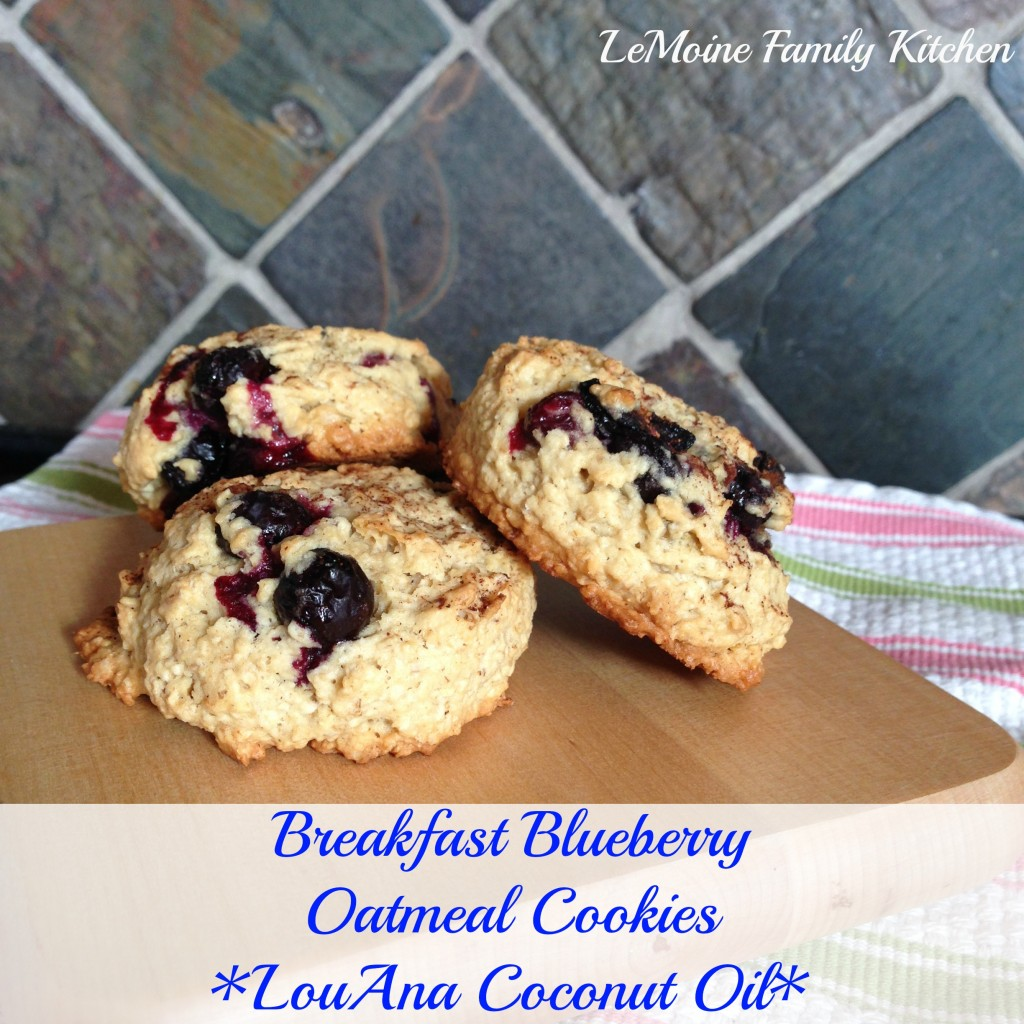 breakfast cookie louana coconut oil
