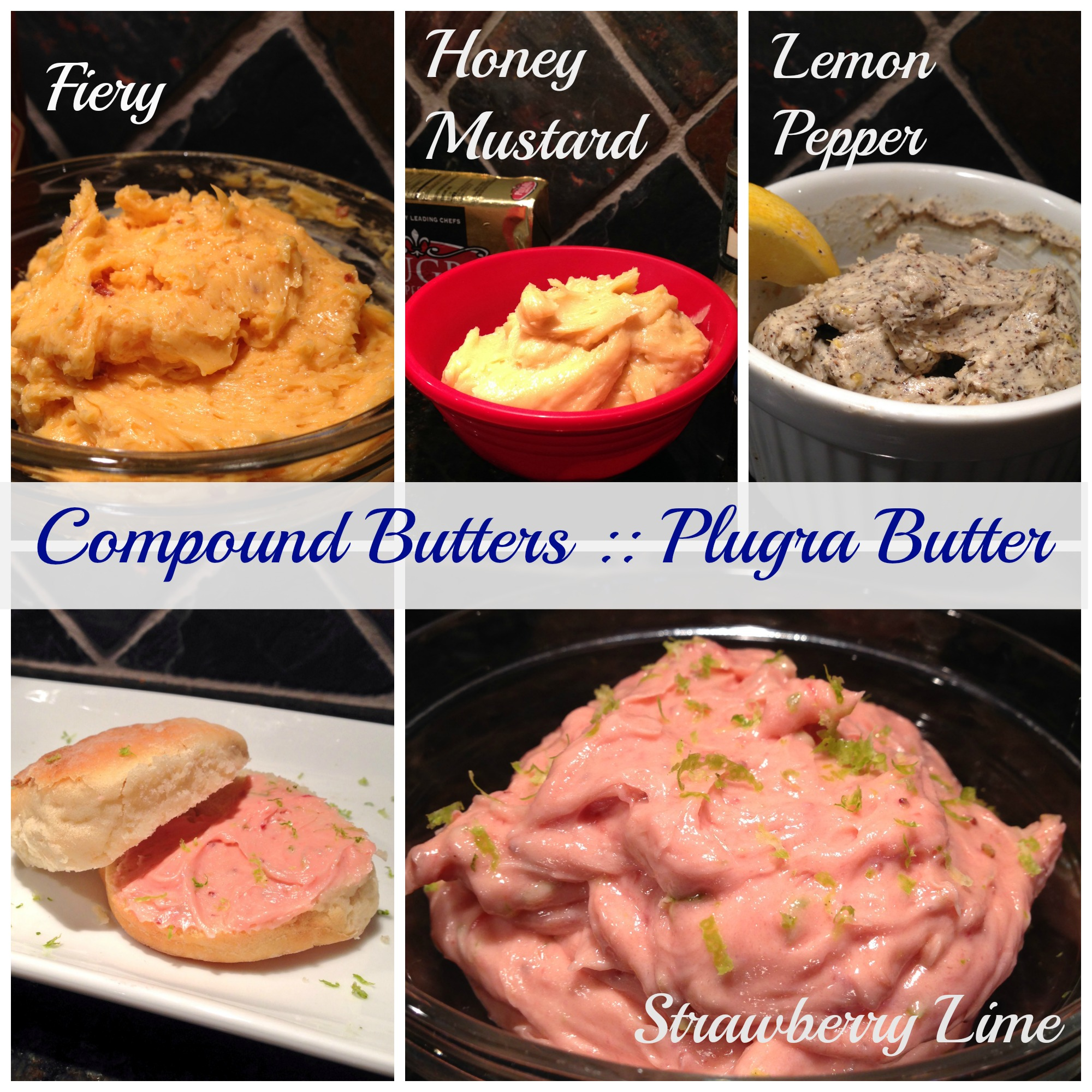 4 Compound Butters :: Plugra Butter