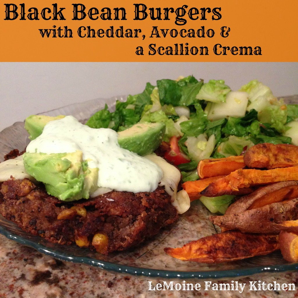blackbeancornburger