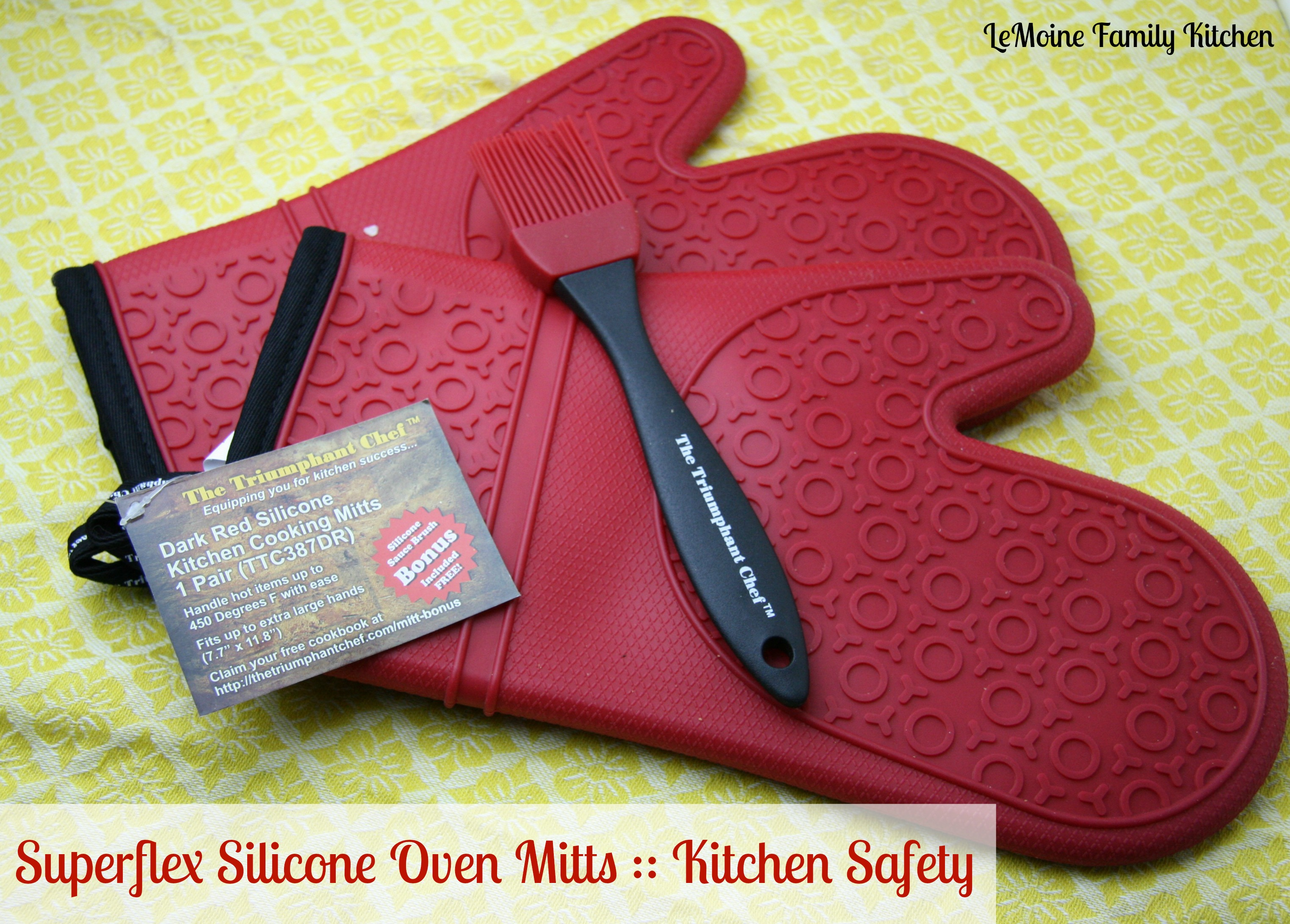 Exceptionnel Super Flex Silicone Oven Mitt | LeMoine Family Kitchen #kitchensafety #ad # Oven #